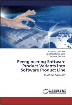 A book about re-engineering of object oriented software to product line ones, appeared in January 2014