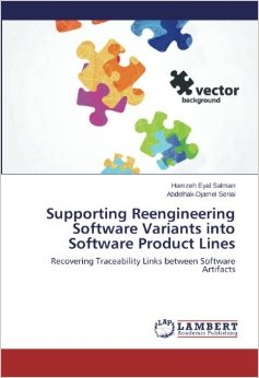 A book about reverse engineering of traceability links in the context of software product line, appeared in August 2014